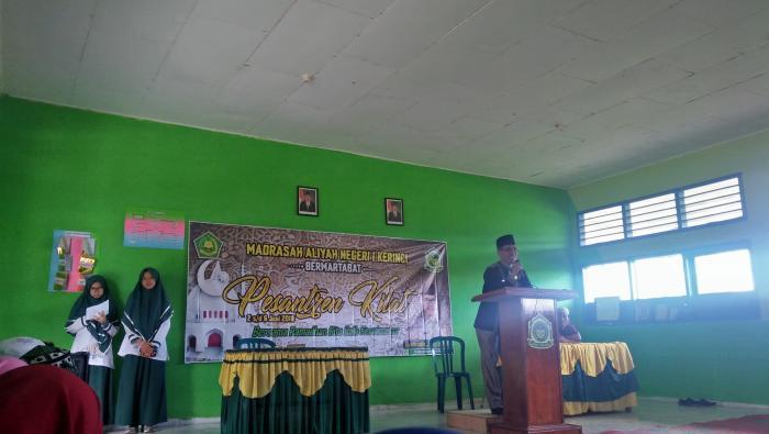 """MAN 1 Kerinci Gelar Pesantren Kilat dengan Tema """"Bersama Ramadhan kita raih kesuksesan"""