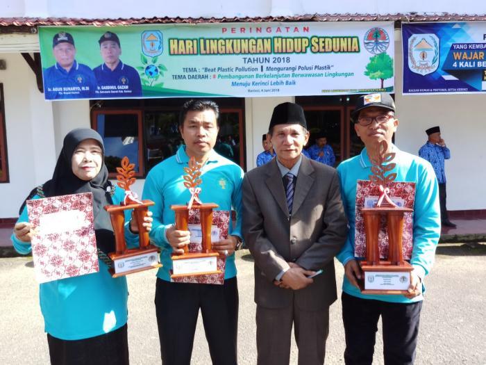 Alhamdulillah, MAN 1 Kerinci Raih Juara 1 Lomba Adiwiyata Tingkat SLTA Kabupaten Kerinci Tahun 2018