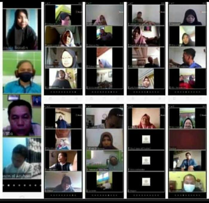 Cegah Penyebaran Covid-19, MAN 1 Kerinci Laksanakan Rapat Kelulusan Online